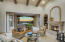 Formal Living Room with Fireplace & Pocket Patio Doors