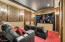 Bedroom 3 - Converted into Movie Theater