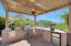 Outdoor Kitchen under Pergola - Day Shot
