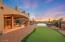 Backyard (Twilight) - 4-hole Putting Green, Main Patio, Pool