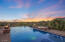 Infinity-edge Pool with Fire Pots on and Spa