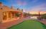 Backyard (Twilight) - 4-hole Putting Green, Main Patio, Infinity-edge Pool