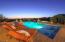 Lounge Chairs & Pool Light On (Twilight)