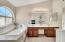 Dual Vanity With Soaking Tub