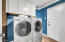 Laundry Room with Extra Storage! Washer & Dryer Convey!
