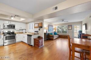 Home furnished/prior to kitchen update