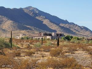 Amazing views around your new home! 2900 sqft, 4 bed, 2.5 bath, 3 Car Garage on an Acre. No Association! 1 W. South Mountain Road, Goodyear, AZ 85338.
