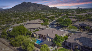 Gated Enclave of Los Alisos with views of Black Mountain