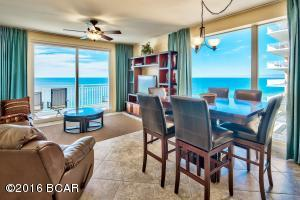 Beautifully updated 3-bedroom, 3-bath corner unit with tile floors throughout and three separate balconies.