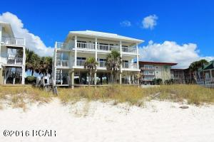Top floor flat for sale, 3/2, furnished. New roof and new seawall (2012, 2011). No HOA.