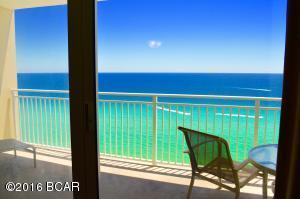 Large Gulf Front Balcony