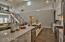 12' bar in kitchen