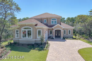 Front Elevation with Paver Drive
