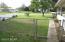 South yard by carport