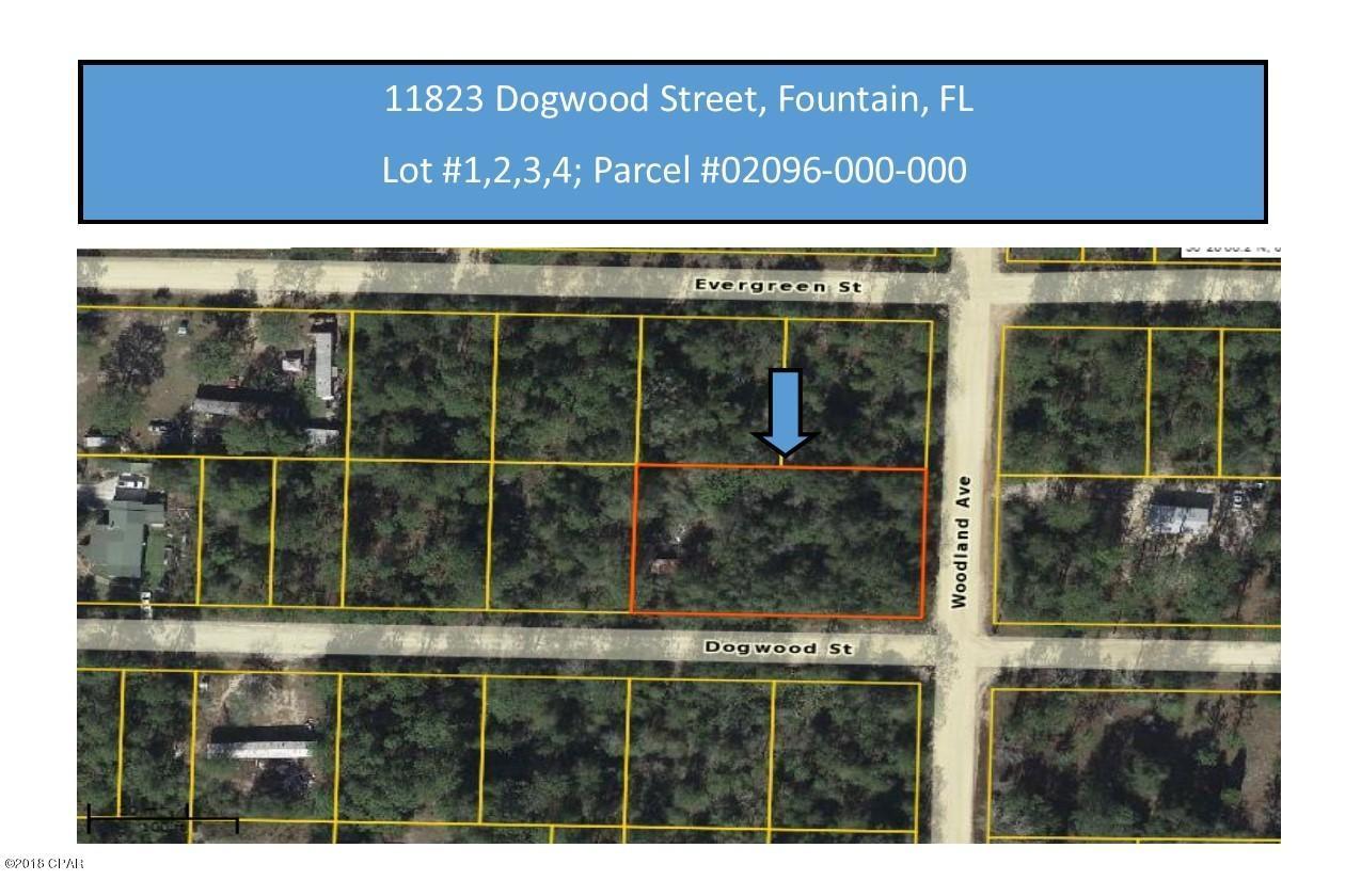 Photo of 11823 DOGWOOD STREET , LOTS 1-4 Fountain FL 32438
