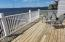 Wide open Deck, with wide open Bay views and Spectacular Sunsets.