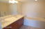 Master Bath Double sink, Jacuzzi Tub