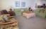 Living Room, Area rug. Tiled floor
