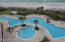 Huge Pool and heated pool above. 2 Hot Tubs
