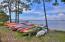 Kayak and Canoe Storage Area