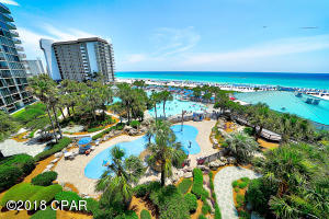 Come visit Paradise with tremendous pools and a view of the Gulf from your balcony.