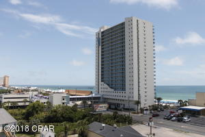 Prime Gulf of Mexico Beach Front, Located in the Heart of Tourism Central, Panama City Beach Florida. 23 Floors, 145 Units, 3 Story Parking Garage w/attached Sky Bridge.