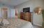 King Bedroom Set, Plenty of Closet & Drawer Storage, HDTV.