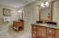 His & Her Stone Counter Linen & Toiletry Vanities.