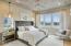 Master Bedroom with Abundant Views!