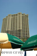 Beach Elevation of the Grand Panama Beach Resort Tower I. 2204 is the unit most top right. This photograph is from the Grand Panama Beach Resort official webpage.