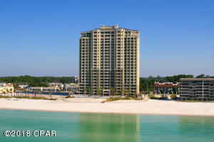 Unit 2204 is top right. This photograph was borrowed from the Grand Panama Beach Resort official website.