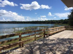 This is the deck at the pavilion that looks out over the lake that is about 1 mile across. It is one of cleanest lakes in the Florida Panhandle.