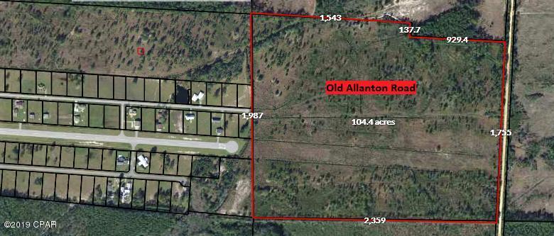 Photo of 100 Acres Old Allanton Road Panama City FL 32404
