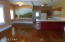 Open floor plan /large dining and kitchen