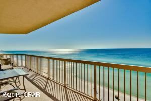 Access the balcony from the master bedroom and enjoy your morning coffee with stunning views of the gulf.