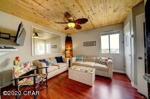 Check out the flooring and ceiling