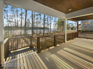 Back Porch -walkway to Dock and Lake