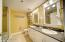 Master Bathroom, clean and modern