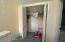 Loft Closet (door is to additional storage area)