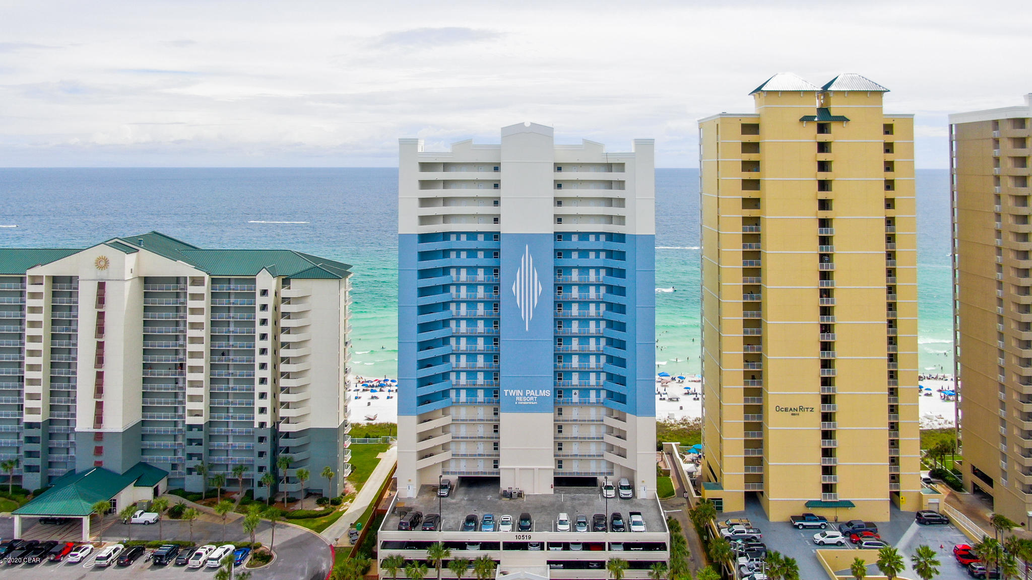 PENTHOUSE! GULF FRONT! TOP FLOOR! DEDICATED PARKING! This is an amazing and rare opportunity for one