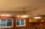 High ceilings in kitchen