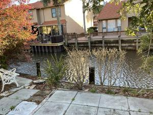 Wonderful canal front townhome.
