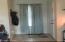 Foyer with tile floor