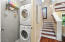 Laundry room with washer and dryer hookup