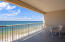 The large balcony is great for entertaining friends and family. Enjoy breakfast as you watch the sunrise.