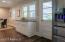 Kitchen door to covered carport