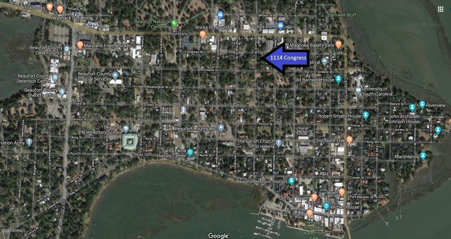 Photo of 1114 Congress Street, Beaufort, SC 29902