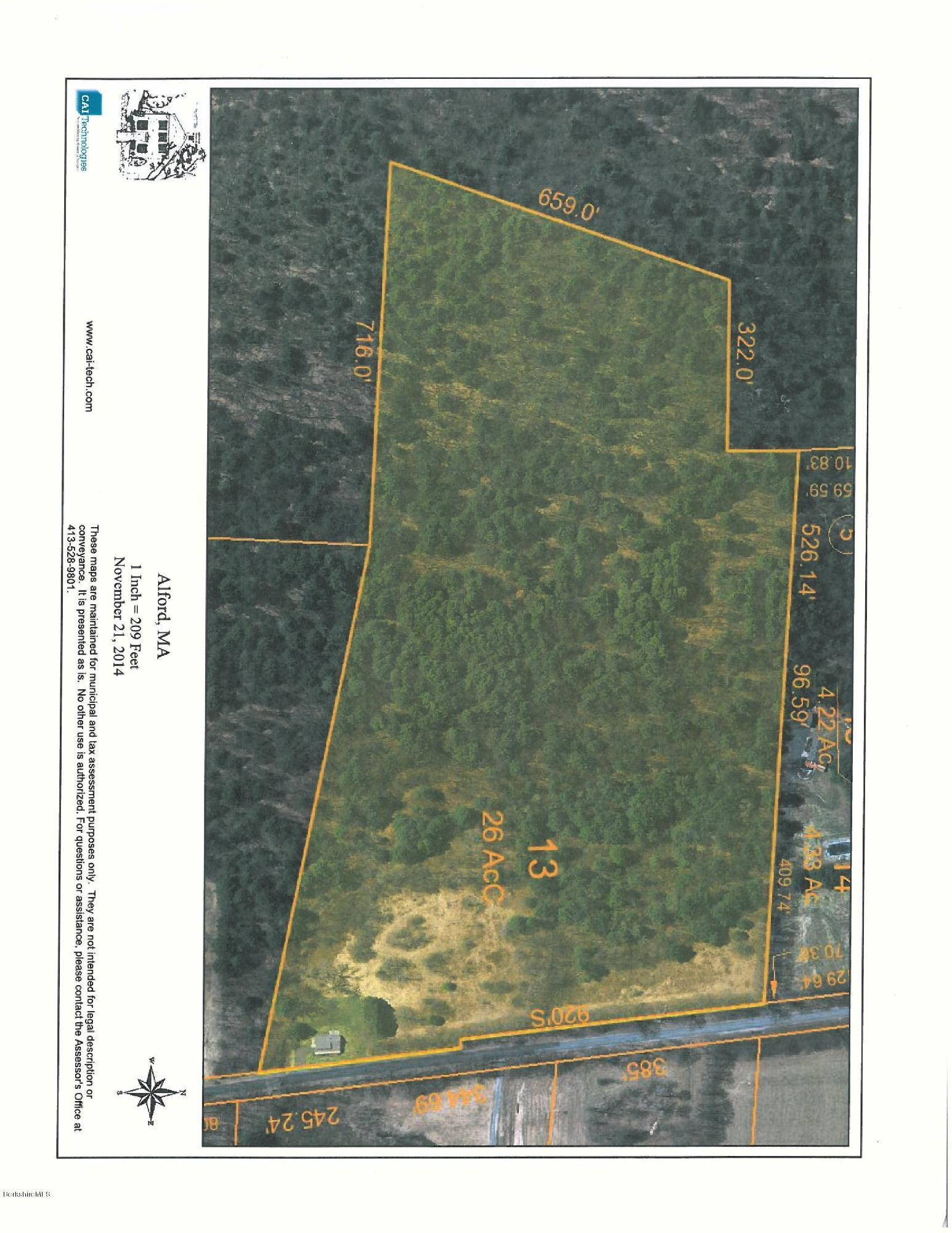 257 West, Alford, Massachusetts 01230, ,Land,For Sale,West,209230