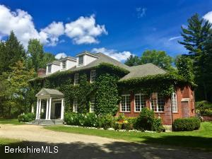 GRACIOUS COUNTRY LIVING IN THIS BRICK GEORGIAN ON 72 ACRES