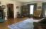 Den with Hard Wood Floors